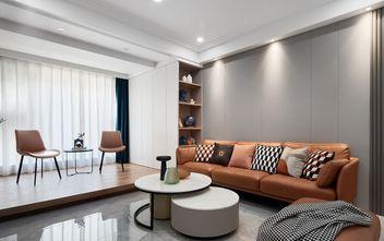 经济型120平米三室一厅现代简约风格客厅图片