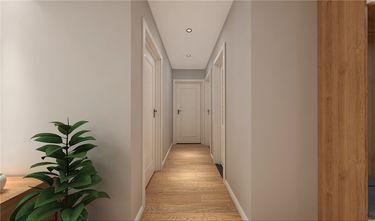 富裕型90平米三室两厅北欧风格走廊图片大全