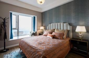 富裕型70平米一室一厅轻奢风格卧室装修效果图