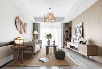 富裕型110平米三室一厅田园风格卧室效果图
