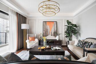 富裕型130平米三室两厅美式风格客厅装修案例