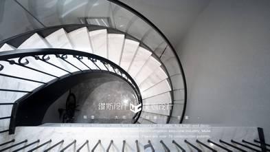 140平米别墅轻奢风格楼梯间欣赏图