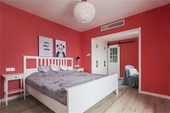 富裕型110平米复式混搭风格卧室装修效果图