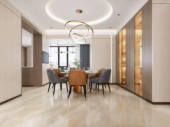 90平米三室三厅轻奢风格餐厅欣赏图