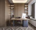 豪华型140平米中式风格书房欣赏图