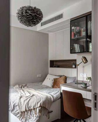 富裕型三室一厅北欧风格卧室装修效果图