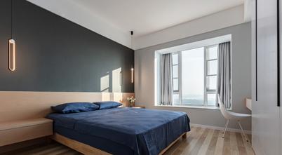 豪华型130平米四室一厅北欧风格卧室装修案例