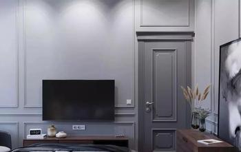 经济型80平米三室两厅北欧风格卧室装修效果图