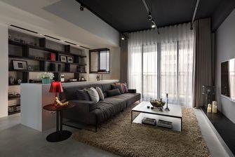 经济型100平米三室一厅工业风风格客厅装修案例