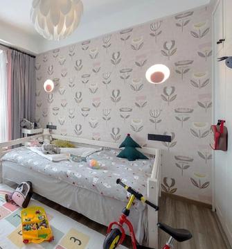 10-15万120平米三室两厅工业风风格青少年房图