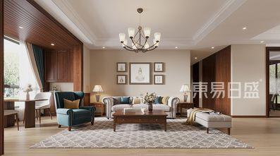 20万以上130平米三美式风格客厅欣赏图