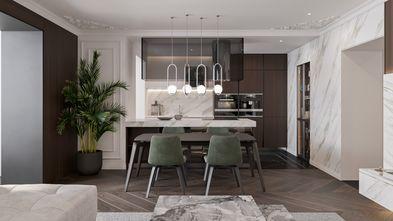 富裕型110平米三室两厅美式风格餐厅装修效果图
