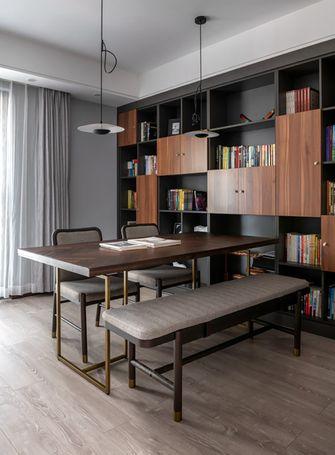 140平米三现代简约风格书房效果图