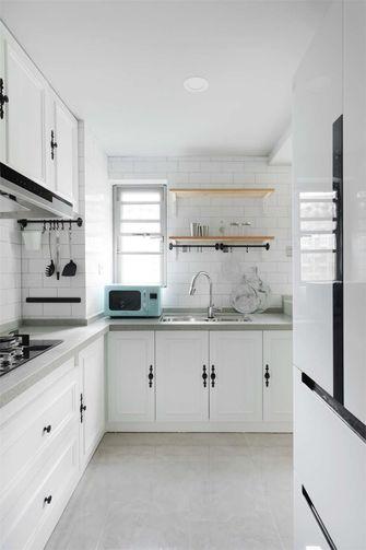富裕型100平米英伦风格厨房装修图片大全