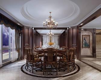 20万以上140平米复式美式风格餐厅图片大全