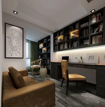 20万以上130平米混搭风格书房效果图