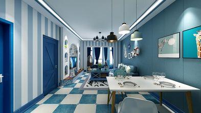10-15万80平米地中海风格客厅装修图片大全