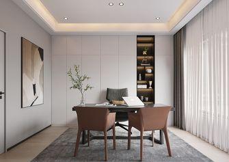 140平米复式轻奢风格书房设计图
