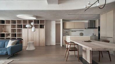富裕型130平米三室两厅北欧风格餐厅图