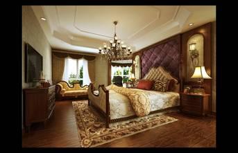 20万以上140平米美式风格卧室图片