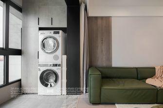 5-10万90平米三室两厅现代简约风格阳台效果图