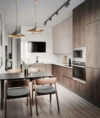 10-15万90平米三室两厅现代简约风格餐厅效果图