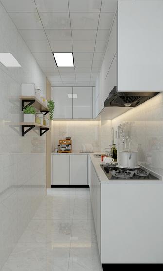 20万以上80平米三室一厅北欧风格厨房图片大全