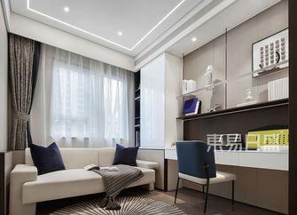 10-15万130平米四室两厅现代简约风格书房装修图片大全