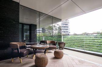 富裕型140平米三室两厅美式风格阳光房装修图片大全