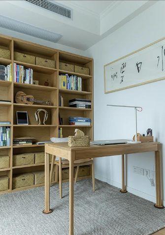 经济型80平米日式风格书房图