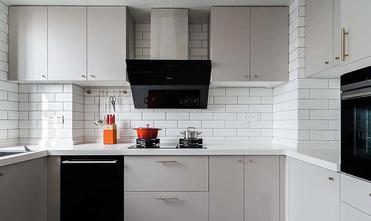 经济型140平米四室一厅现代简约风格厨房装修效果图