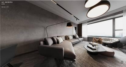 经济型120平米三英伦风格客厅装修效果图