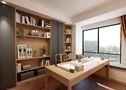 140平米复式中式风格书房欣赏图