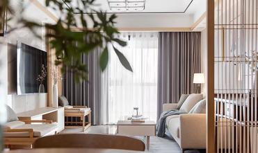 富裕型110平米公寓中式风格客厅装修效果图