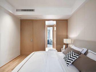 110平米三室一厅日式风格卧室图片