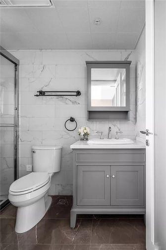 富裕型130平米四室两厅美式风格卫生间装修图片大全