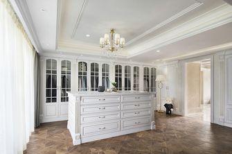 豪华型140平米别墅法式风格衣帽间图片