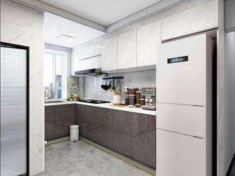 3-5万60平米一室一厅现代简约风格厨房图片