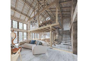 10-15万80平米复式田园风格客厅欣赏图