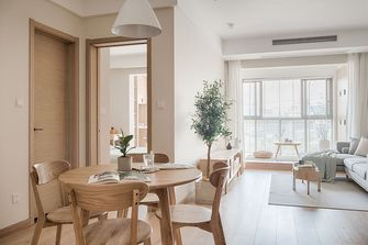 10-15万70平米日式风格餐厅设计图