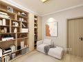 富裕型100平米日式风格书房装修效果图