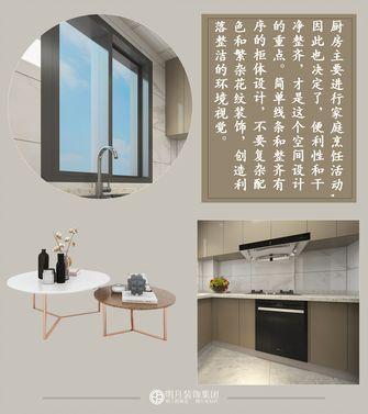 富裕型120平米三室两厅中式风格厨房图片