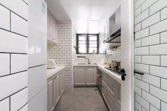 90平米三室两厅美式风格厨房效果图
