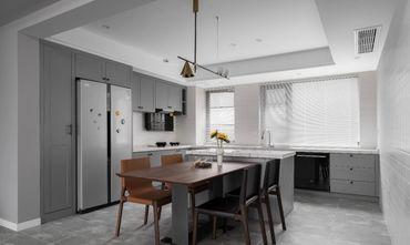 富裕型70平米三室一厅欧式风格餐厅装修效果图