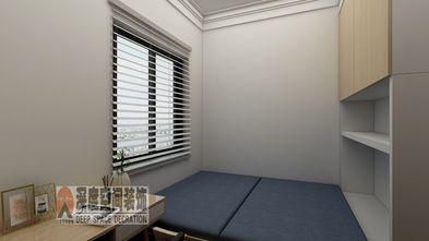 3-5万80平米三室两厅现代简约风格书房图片大全