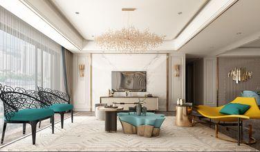 140平米三室两厅地中海风格客厅装修案例