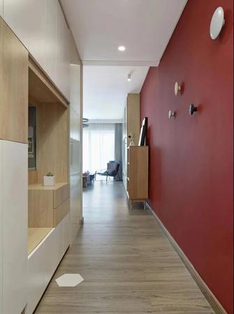 5-10万90平米三室一厅日式风格玄关设计图