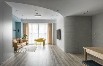 富裕型140平米四北欧风格客厅图片
