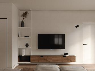 70平米一居室现代简约风格客厅装修案例
