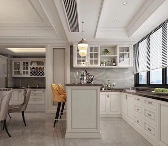 富裕型120平米三室两厅欧式风格厨房图